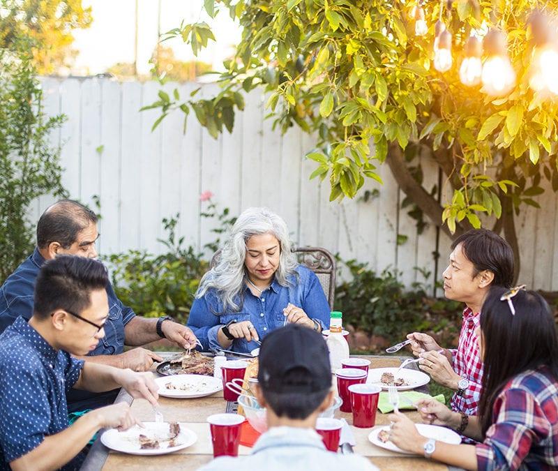 Ideas for backyard entertaining