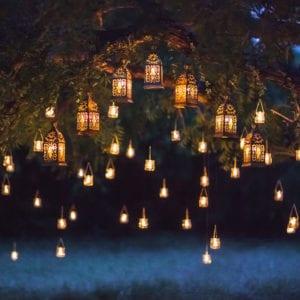 Decorative Exterior Night Lighting